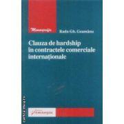 Clauza de hardship in contractele comerciale internationale