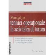 Manual de tehnici operationale in activitatea de turism