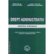 Drept administrativ partea speciala