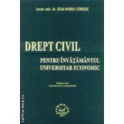 Drept civil pentru invatamantul universitar economic