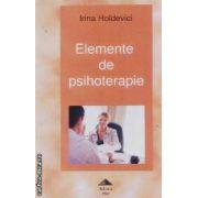 Elemente de psihoterapie
