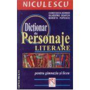 Dictionar de personaje literare pentru gimnaziu si liceu