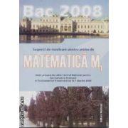 Matematica M1 bac2008