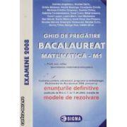 Bacalaureat la matematica M1 cu enunturile definitive publicate la 11.04.2008