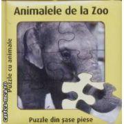 Animalele de la Zoo Puzzle