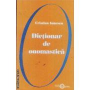 Dictionar de onomastica