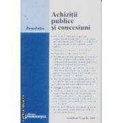 Achizitii publice si concesiuni actualizat 22 aprilie 2008