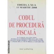 Codul de proedura fiscala 11 martie 2008