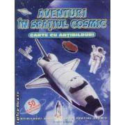 Aventuri in spatiul cosmic carte cu abtibilduri