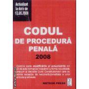 Codul de procedura penala 2008 12 mai 2008