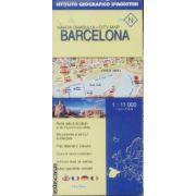 Barcelona harta orasului