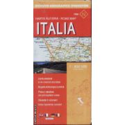 Italia harta rutiera