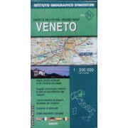 Veneto harta rutiera