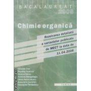 Chimie organica bacalaureat 2008