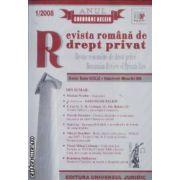 Revista romana de drept privat 1/2008
