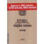 Istoria relatiilor romane antologie