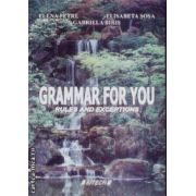 Grammar for you rules and exceptions