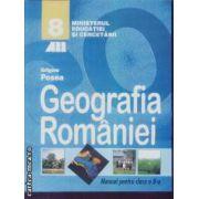 Geografia Romaniei manual cls 8 Posea