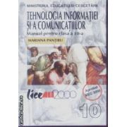 Tehnologia informatiei si a comunicatiilor manual cls 10 Pantiru