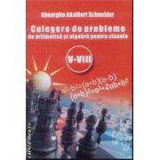 Culegere de probleme de aritmetica si algebra cls V-VIII Schneider
