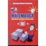 Matematica exercitii si probleme clasa a III a Schneider