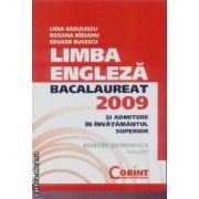 Limba engleza bacalaureat 2009 si admitere in invatamantul superior