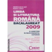 Limba si literatura romana bacalaureat 2009