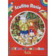 Citim si coloram Scufita Rosie