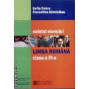 Limba romana caietul elevului clasa a VI-a