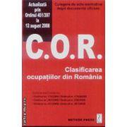 C.O.R Clasificare ocupatiilor din Romania