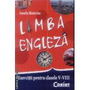 Limba Engleza exercitii pentru cls V-VIII