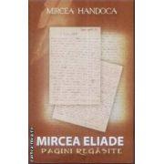 Mircea Eliade Pagini regasite