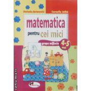 Matematica pentru cei mici grupa mijlocie 4-5 ani