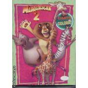Madagascar 2 carte de colorat