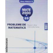 Mate 2000+8/9 Probleme de amtematica cls XII