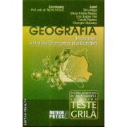 Geografia Romaniei a U.E. si a Europei teste grila pt. admitere in invatamantul superiror