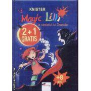 Set Magic Lilli La castelul lui Dracula + Descopera America + Da scoala peste cap