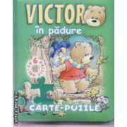 Victor in padure carte puzzle