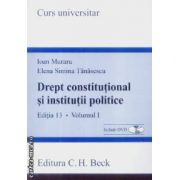 Drept constitutional si institutii politice vol 1 + CD