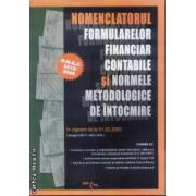 Nomenclatorul Formularelor financiar contabile
