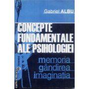 Concepte fundamentale ale psihologiei