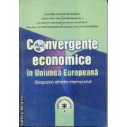 Convergente economice in Uniunea Europeana