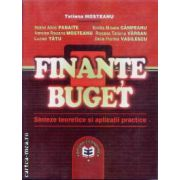 Finante Buget Sinteze teoretice si aplicatii practice