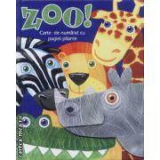 Zoo Carte de numarat cu pagini pliante