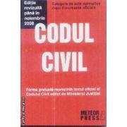 Codul civil noiembrie 2008