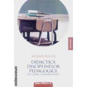 Didactica Disciplinelor pedagogice