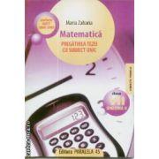 Matematica pregatirea tezei cu subiect unic cls VII sem 2