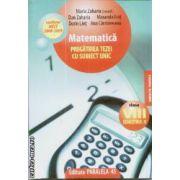 Matematica pregatirea tezei cu subiect unic cls VIII sem 2