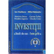 Investitii Studii de caz Teste grila