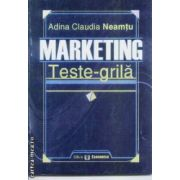 Marketing Teste grila